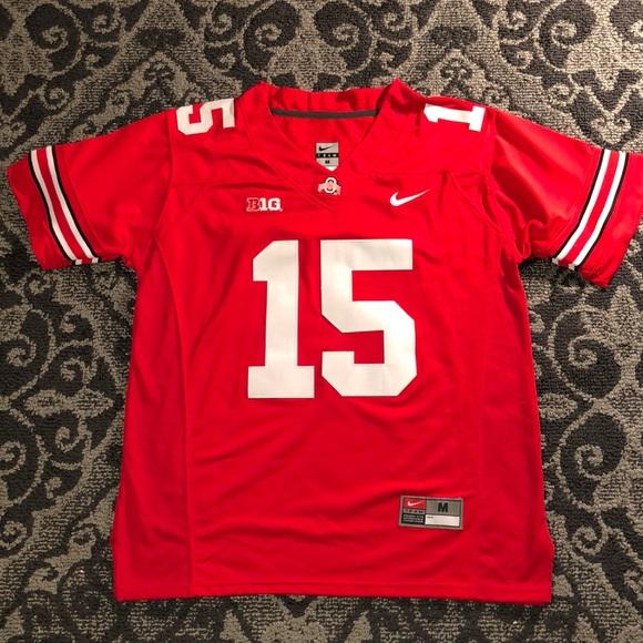 e52b66af8cf Nike Shirts | Ezekiel Elliott Ohio State Red Jersey Size Medium ...